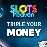 200 Spins and £100 Bonus in Slots Heaven